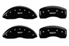 2011-2014 Chrysler 200 MGP Caliper Covers Black