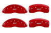 2011-2014 Chrysler 200 MGP Caliper Covers Red