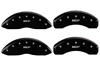 2007-2009 Chrysler Aspen MGP Caliper Covers Matte Black