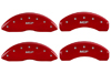 2007-2009 Chrysler Aspen MGP Caliper Covers Red