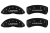2001-2002 Chrysler Mopar MGP Caliper Covers Matte Black