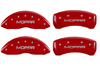 2001-2002 Chrysler Mopar MGP Caliper Covers Red