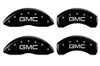 2007-2013 GMC MGP Caliper Covers Black