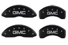 2007-2010 GMC MGP Caliper Covers Matte Black