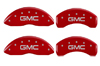 2007-2013 GMC MGP Caliper Covers Red