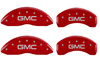 2006-2009 GMC MGP Caliper Covers Red