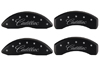 2004-2009 Cadillac SRX MGP Caliper Covers Matte Black