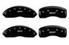 2004-2009 Cadillac SRX MGP Caliper Covers Black