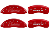 2004-2009 Cadillac SRX MGP Caliper Covers Red