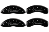 2010-2011 Cadillac SRX MGP Caliper Covers Black