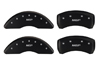 2013 Cadillac XTS Caliper MGP Caliper Covers Matte Black