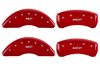 2013 Cadillac XTS Caliper MGP Caliper Covers Red