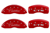 2003-2007 Cadillac CTS MGP Caliper Covers Red