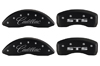 2005-2010 Cadillac STS MGP Caliper Covers Matte Black