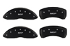 2008-2011 Cadillac STS MGP Caliper Covers Matte Black