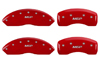 2008-2011 Cadillac STS MGP Caliper Covers Red