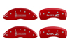2013-2014 Lincoln MKZ MGP Caliper Covers Red