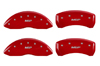 2007-2011 Lincoln MKZ MGP Caliper Covers Red