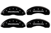 2007-2014 Jeep Liberty Wrangler MGP Caliper Covers Black