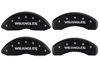 2007-2014 Jeep Liberty Wrangler MGP Caliper Covers Matte Black