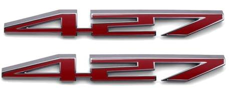 C6 Corvette 427 Hood Emblems Package