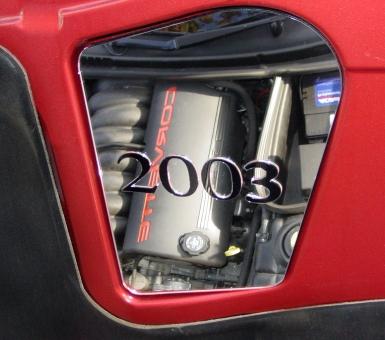 C5 Corvette Under Hood Mirror