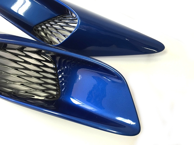 C7 Corvette Stingray Painted ACS Five1 Intake Quarter Panel Ports #45-4-011
