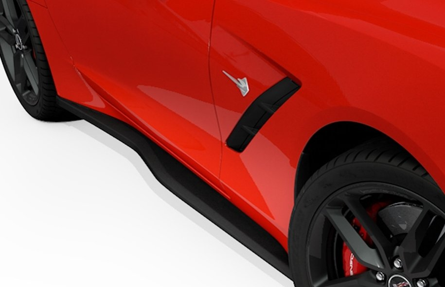 C7 Z06 Corvette ACS Side Skirts