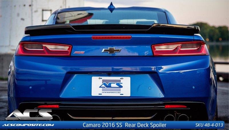 2016-2018 Camaro SS ACS Spoiler 48-4-013