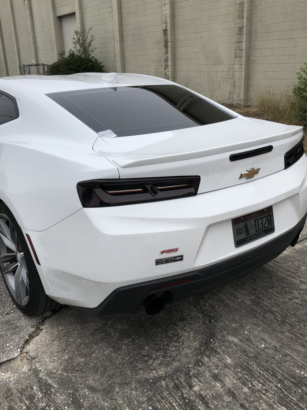 Th Generation Camaro Piece Tail Light Blackout Kit