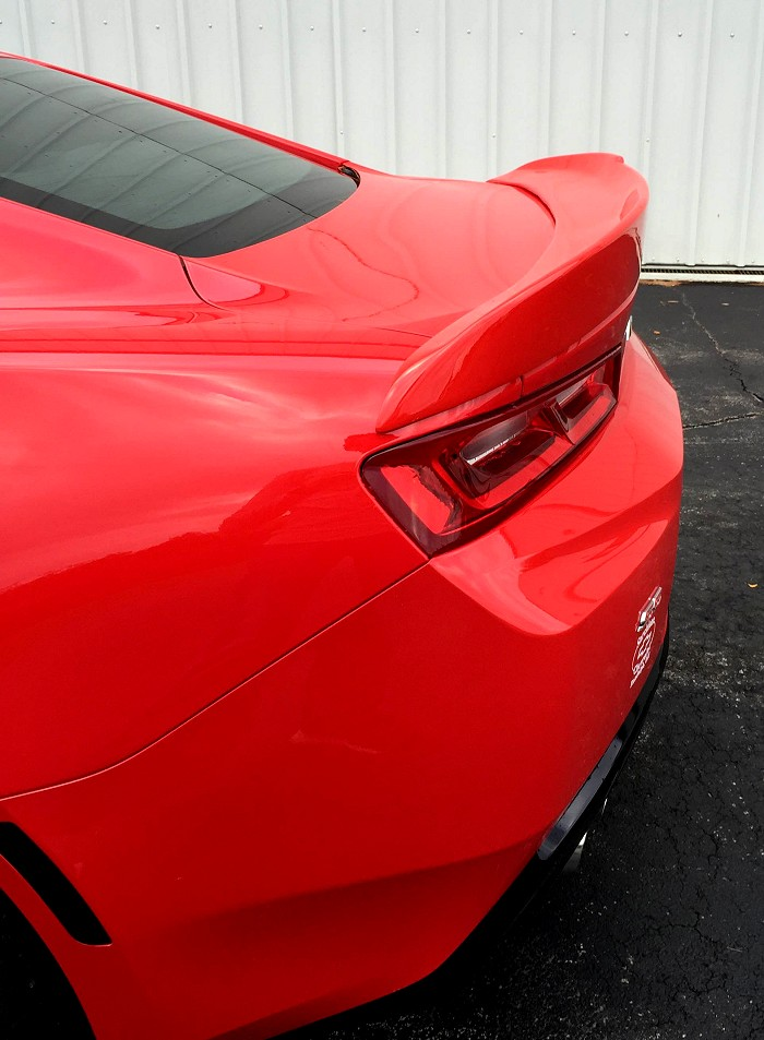 2016 6th Generation Camaro Rear Spoiler