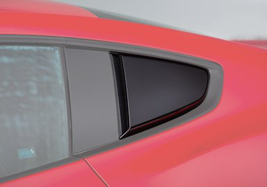 2015-2018 Ford Mustang ROUSH Painted Quarter Window Scoops