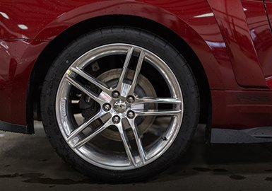 Ford Mustang Roush 20 Quot X 9 5 Quot Polished Cast Aluminum Wheel
