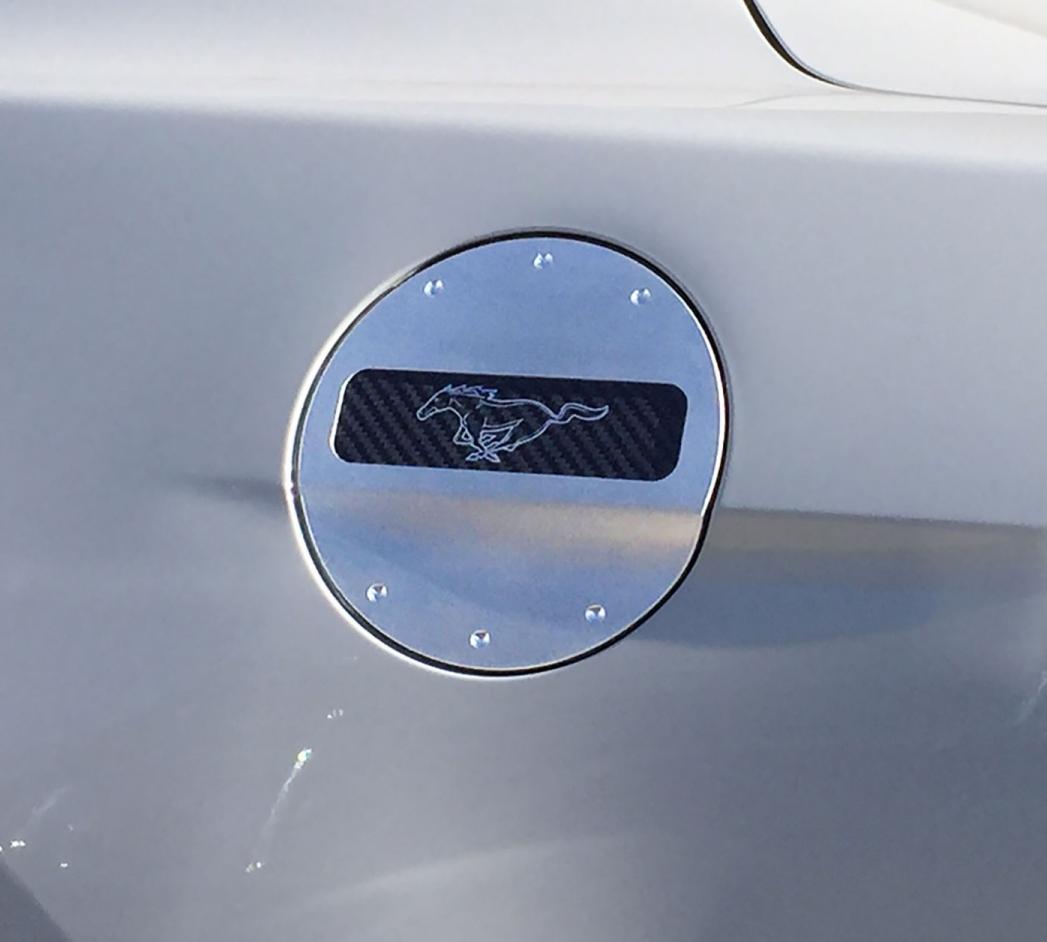 2015 2019 Ford Mustang Defenderworx Fuel Door Pony