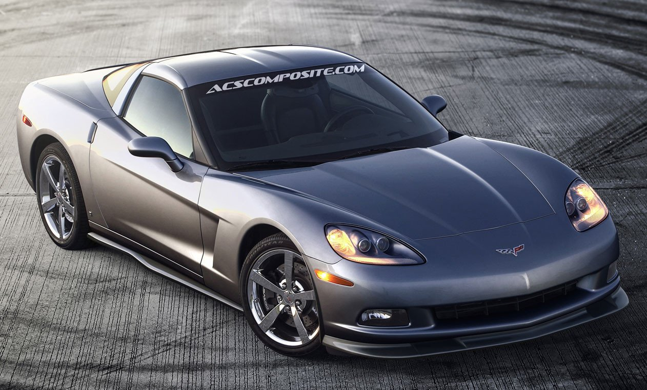 ACS C6 Corvette Zero6 Splitter