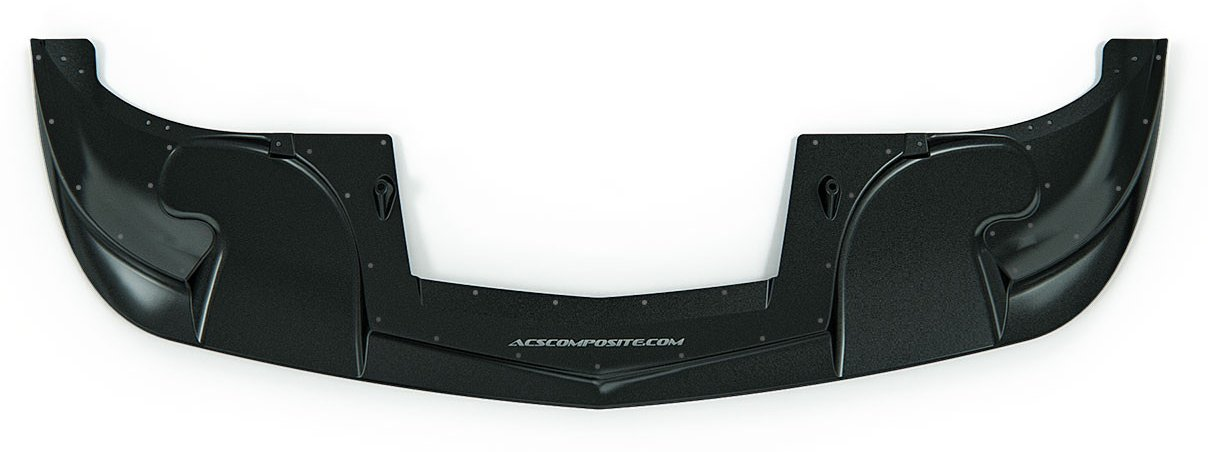 C6 Corvette Base ACS Zero6 Splitter