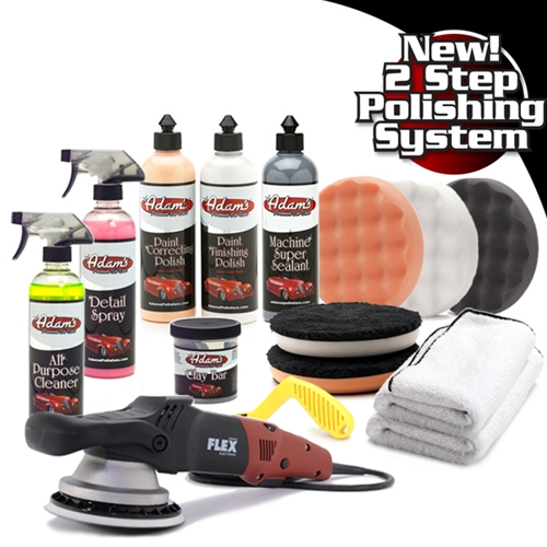 Adam's Complete Machine Polisher Kit