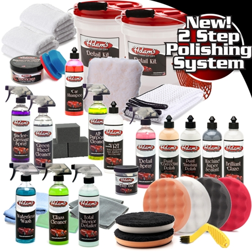 Adam's Premium Machine Polishing Kit