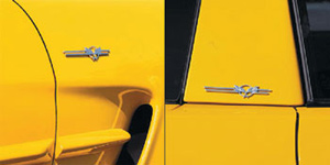 1997-2004 C5 Corvette Billet Badges