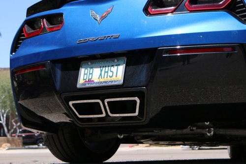 BILLY BOAT C7 CORVETTE Z06 GEN 3 FUSION EXHAUST With Speedway Tips