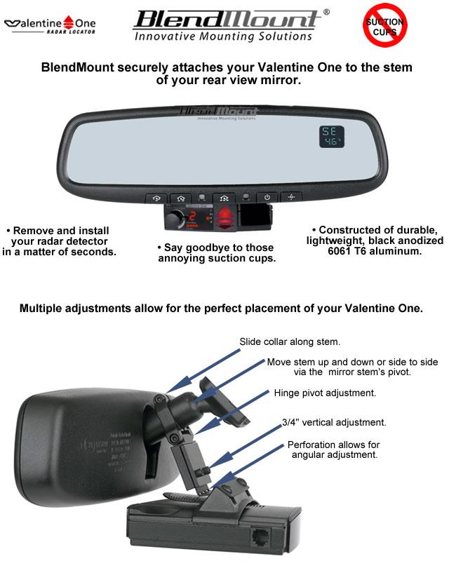 C5 Corvette Radar Detector Blendmount Rpidesigns Com