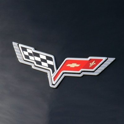 C6 Corvette Billet Emblem Surround
