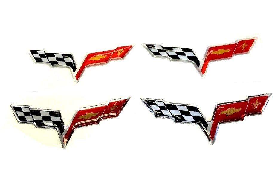 c6 corvette emblem domed wheel center caps decal kit rpidesigns com rh rpidesigns com corvette c6 logo what does it mean corvette c6 logo what does it mean