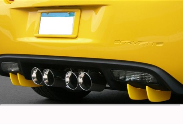 C6 Corvette Painted Rear Valance Diffusers
