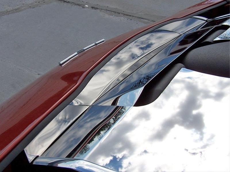 C6 Corvette Stainless Steel Front Nose Cap