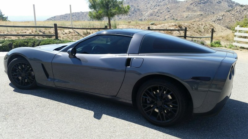 c6 corvette c7 z06 style black wheels package. Black Bedroom Furniture Sets. Home Design Ideas