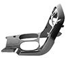 C6 Corvette Carbon Fiber Center Console APR