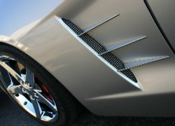 C6 Corvette Side Spears Billet Aluminum