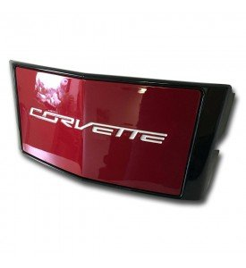 C7 Corvette Painted GM Front License Plate Holder