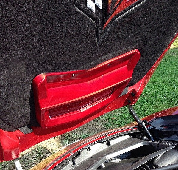 C7 Corvette Painted Hood Heat Extractor
